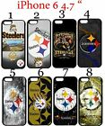 "Pittsburgh Steelers iPhone 6 6s 4.7"" Case Hard Silicone Case ##"