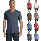 Comfort Color Mens Pigment Dyed V Neck T Shirt Short Sleeve Tee S-3XL 4099-C4099