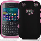Hybrid Silicone Builder Combo Cover Case for BlackBerry Curve 9220 9320