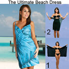Saress AQUA Beachdress Coverup Swimwear Bikini Wrap Sarong Dress