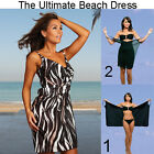 Saress MALIBU Beachdress Coverup Swimwear Bikini Wrap Sarong Dress