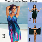 Saress MIAMI Beachdress Coverup Swimwear Bikini Wrap Sarong Dress