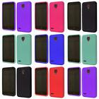 For Alcatel OneTouch Conquest 7046T Soft Silicone Jelly Skin Cover Case