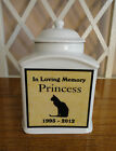 """Pet Memorial Urn """"Personalized"""",  Cat,  Dog,  Photo Urn,  Add photo or poem,  Name"""
