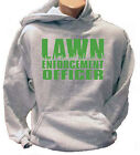 Lawn Enforcement Officer Landscaper Landscaping  Adult Hoodie