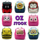 Cute Child Kids Boy Girl's Animal School Backpack Trolley Bag - Lion