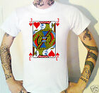 Jack Of Hearts T-Shirt. Playing Card Casino Poker Blackjack Alice Knave
