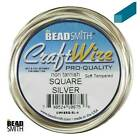 SQUARE Craft Wire BeadSmith Soft Tempered 21 gauge