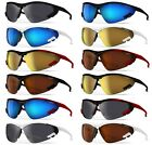 XLINE XL2202 Polarized 1.4mm Sports Sunglasses SKI CYCLING RUNNING Mirrored