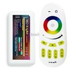 2.4G 4-Zone LED RGB Wireless RF Controller Touch Remote Dimmable