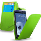 SAMSUNG GALAXY S3 i9300- NEW PU LEATHER FLIP CASE COVER POUCH & SCREEN GUARD