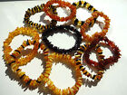 Genuine Chips Beads Baltic Amber Bracelets - Choose your color!!!