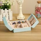 Butterfly Travel Jewelry Display Storage Box/Earring Ring Case/Bracelet Organize