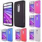 For Motorola Moto G 2015 3rd Gen XT1540 XT1548 Bendable Flexible TPU Cover Case