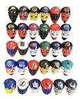 NHL Ice Hockey Netminder Goalie Mini Franklin Pocket Helmet Mask - ALL 30 TEAMS