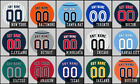 Personalized Jersey Fridge Magnets - MLB Team Colors - Set of 3