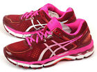 Asics GEL-Kayano 22 Deep Ruby/White/Pink Pow Expert Running Shoes T597N-2601