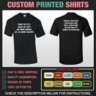 Custom Personalized T-Shirt - Your Text On A Tee
