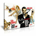 007 JAMES BOND Sean Connery Canvas Comics Icon Framed Print ~ More Size £19.99 GBP