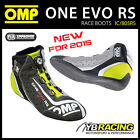 NEW! IC/805RS OMP ONE EVO RS FORMULA PROFESSIONAL RACING BOOTS SOFT LEATHER