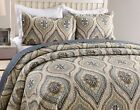 3Pc Quilt Bedspread Sets Bedding Coverlet Bedroom Floral Queen King Size, Joniy image