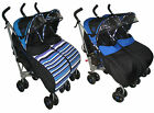 Twin pushchair stroller Twin buggies from birth Kidz Kargo from birth-3 yrs <br/> Birth-3yrs, umbrella fold ideal for storage 5* reviews