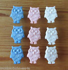 5 - Novelty Buttons - Little Owl - Baby/Kid's /Dolls - Knitting/Sewing- Cards