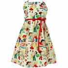 rockabilly kids dresses - Kid's Hemet Vintage Candy Dress Beige Retro Rockabilly Sweets Ice Cream