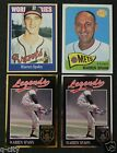 WARREN SPAHN _ 4 Different Cards _Choose 1 or More _BUY 10 Mail FREE