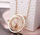Harry Potter Time Turner Necklace Hermione Granger Rotating Spins Free ship