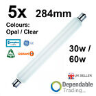 5 x BRANDED STRIP LIGHT 284mm 30w / 60w Clear / Opal Double Ended Tubular Lamp