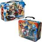 AVENGERS Official 3D Tin Lunchbox Metal Lunch Box Toy Storage Case Kid Trendy603