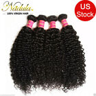 Brazilian Curly Virgin Hair Weave 1/3 bundles Unprocessed Human Hair Extensions