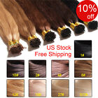 100S Pre Bonded I Tip Hair Extensions 1g/s Keratin Stick I Tip Human Hair 100g