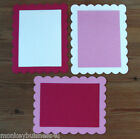 Frame Die Cuts - Scallop Frame - Topper - Christmas