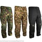 ARMY SPECIAL OP TROUSERS BUILT IN KNEE PADS RIPSTOP CAMO WORKWEAR HIKING MTP BTP