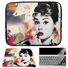 Audrey Laptop Sleeve Case Bag + Mouse Pad + Keyboard Cover For Macbook Pro Air