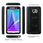 Samsung Galaxy Note 5 Case Cover Built-in Screen Protector Knox Armor Belt Clip