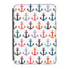 Patchwork Anchors Pattern Kindle Paperwhite Touch PU Leather Flip Case Cover