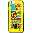Dr Seuss Be Who You Are Quote Unique Protector Cover Case For Apple iPhone 6 4.7
