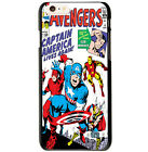 Marvel Comic Captain America Cover Case For Apple iPhone 4S 5S