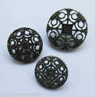 Metal Buttons - pierced - Shank Buttons - different Size - Knitting/Sewing