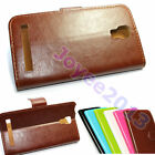 PU Leather Wallet Case Cover For POSH Mobile SmartPhone /u choose model