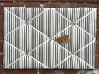 French Ticking canvas Shabby Chic Fabric Pin/memo/Notice Board choice size style