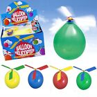 5/10/30 pcs Helicopter Balloons Flying DIY Flight Science Plane Children Toy W