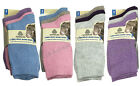 3/6/12 Women's Australian Lambs Wool Blend Soft Winter Warm Socks 4-7 L10801