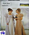 Butterick Sewing Pattern 6630 History Empire Jane Austen Dress Costume