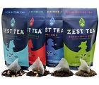 Vigour Tea 4-Pack Sampler by Zest Tea- Healthy Coffee Substitute - FREE Shipping