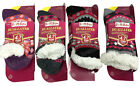 WOMEN'S LADIES SOFT DUALLAYER SOCKS 4.7 TOG FLUFFY WINTER  CHRISTMAS SOCKS LS56