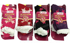 WOMEN'S LADIES SOFT DUALLAYER SOCKS 4.7 TOG FLUFFY WINTER  CHRISTMAS SOCKS LS55